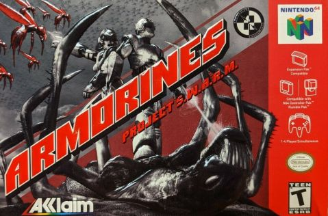 M64#1: Armorines Project S.W.A.R.M.