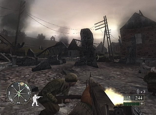 Call of Duty 2: Big Red One #4