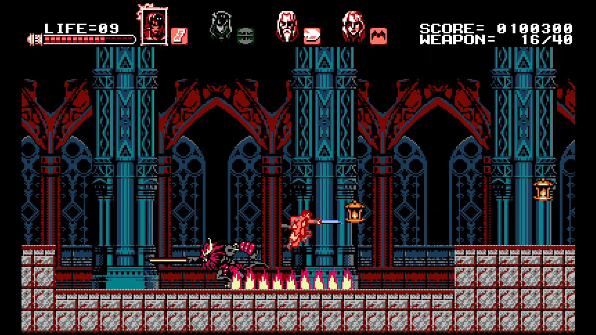 Bloodstained: Curse of the Moon #6