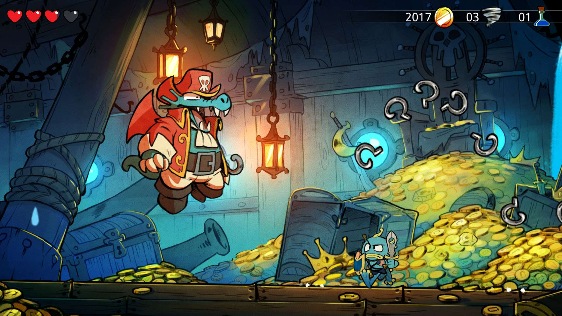 Wonder Boy: The Dragon's Trap #9