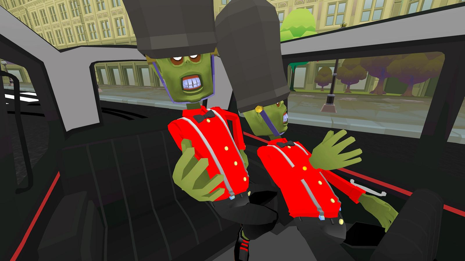 The Modern Zombie Taxi Co. #3