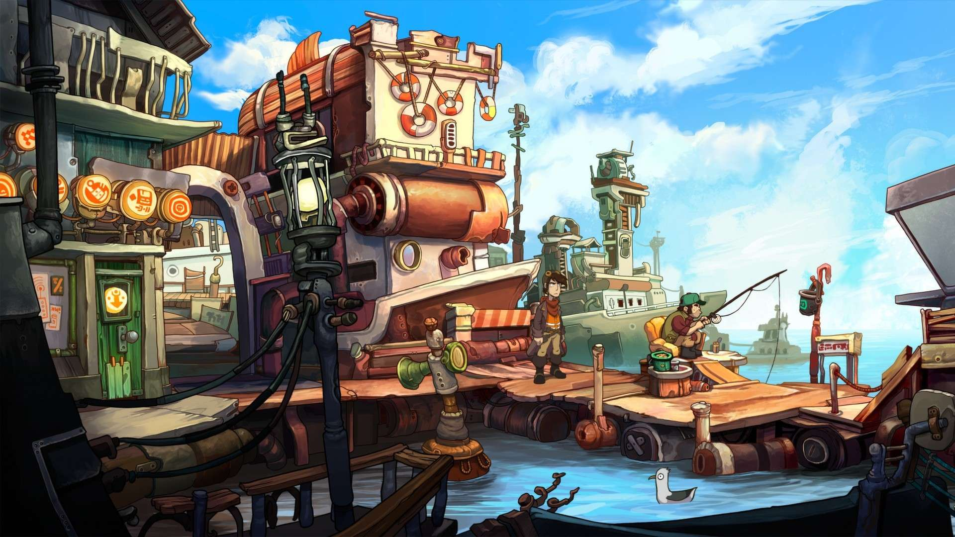 Chaos on Deponia #1