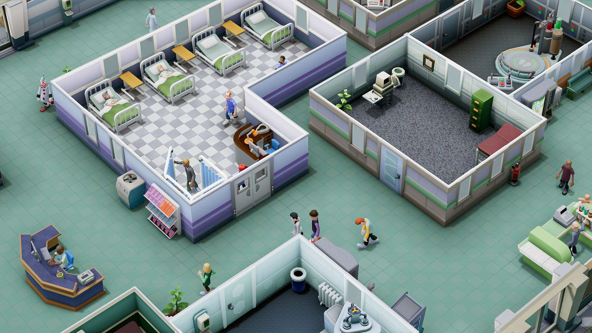 Two Point Hospital #3