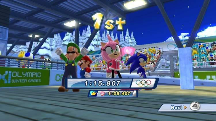 Mario & Sonic at the Olympic Winter Games #6
