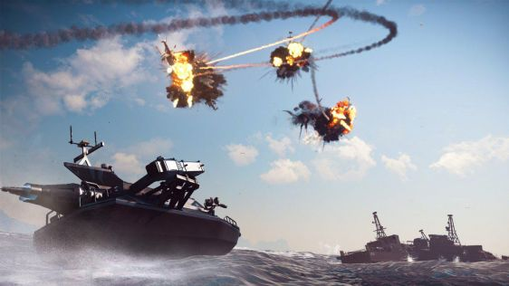 Just Cause 3: Bavarium Sea Heist