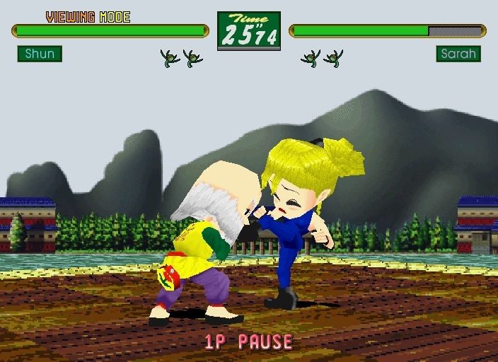 Virtua Fighter Kids #8