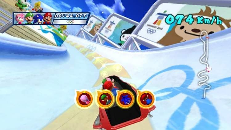 Mario & Sonic at the Olympic Winter Games #5