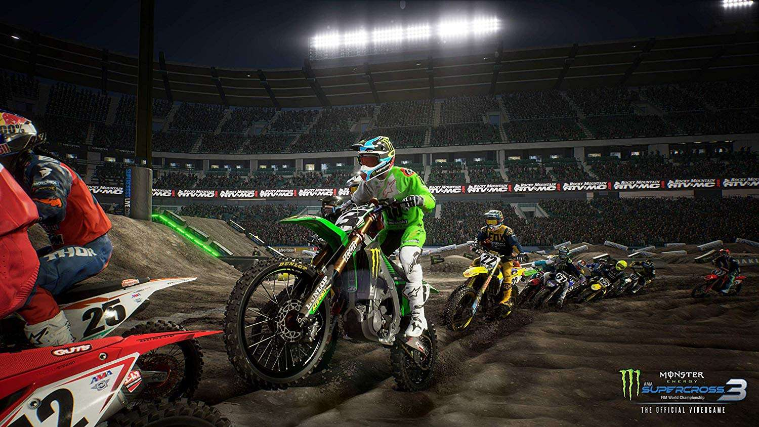 Monster Energy Supercross: The Official Videogame 3 #1