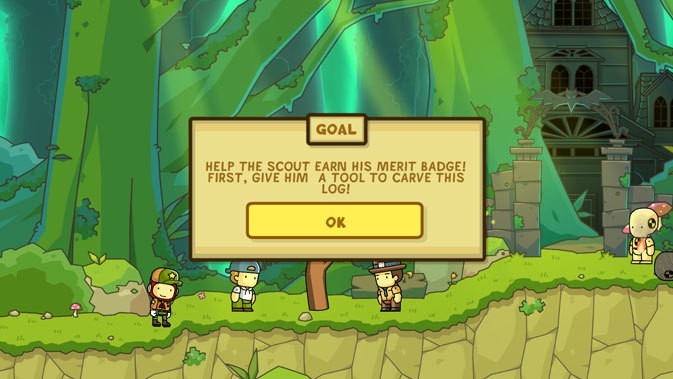 Scribblenauts Unlimited #2