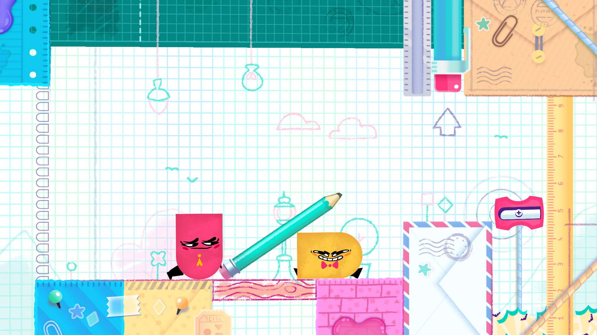 Snipperclips: Cut it out, together! #10