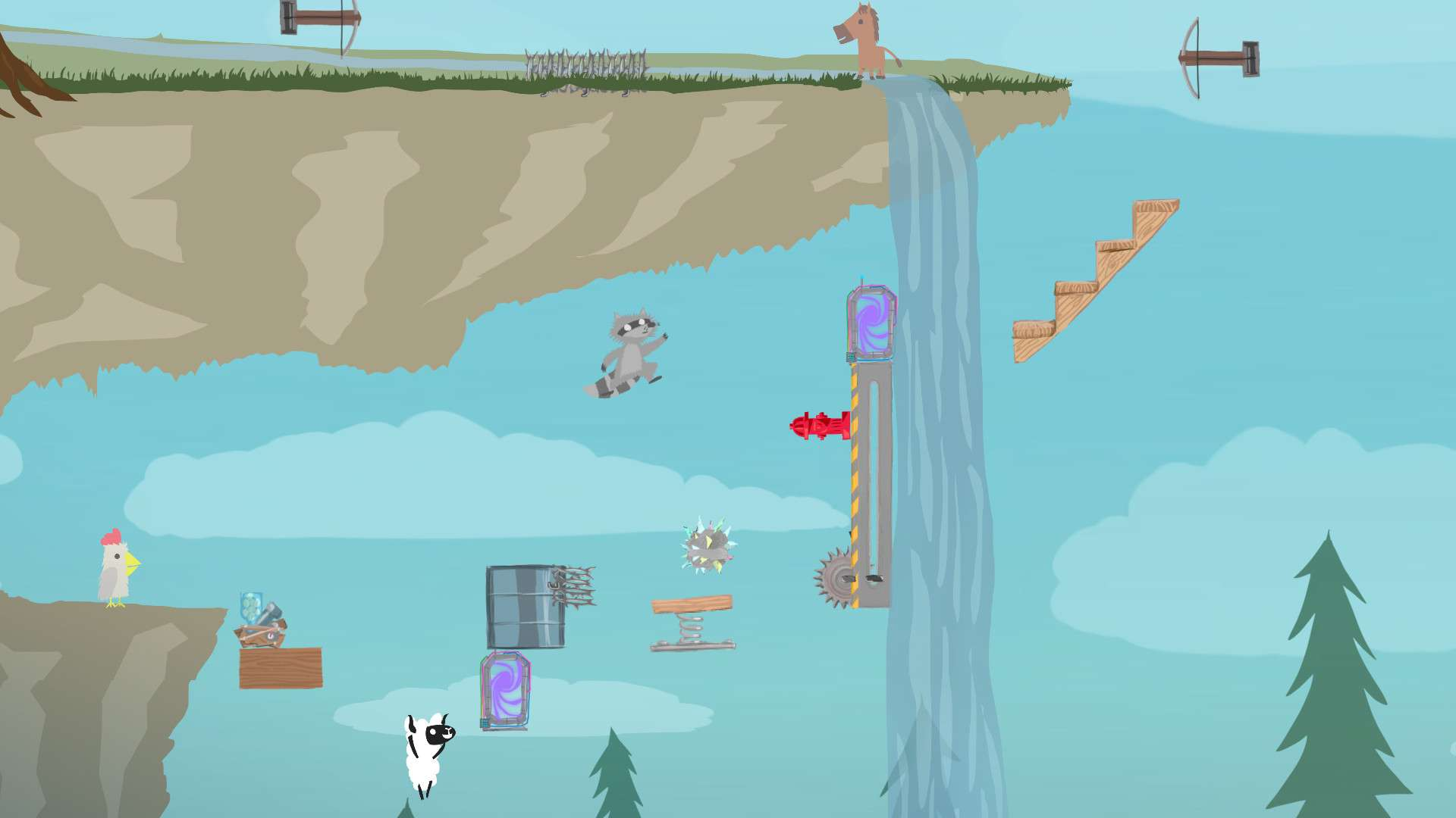 Ultimate Chicken Horse #1
