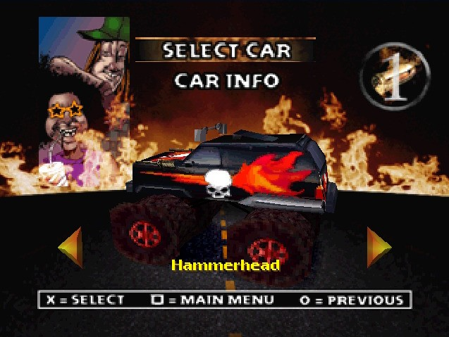 Twisted Metal 2: World Tour #10