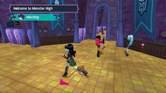 Monster High: New Ghul in School