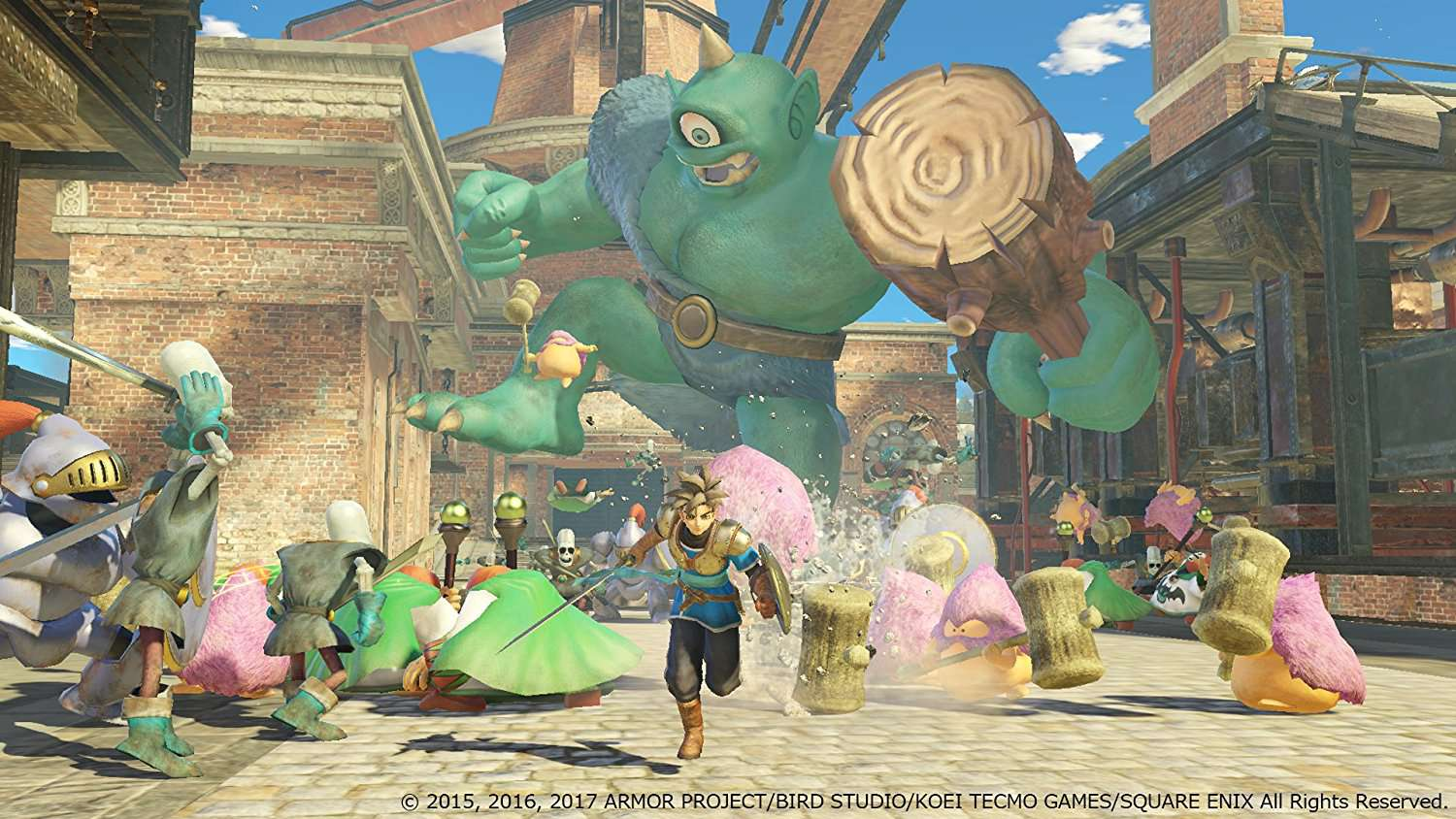 Dragon Quest Heroes I-II #1