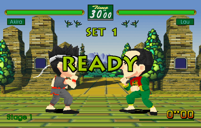 Virtua Fighter Kids #11