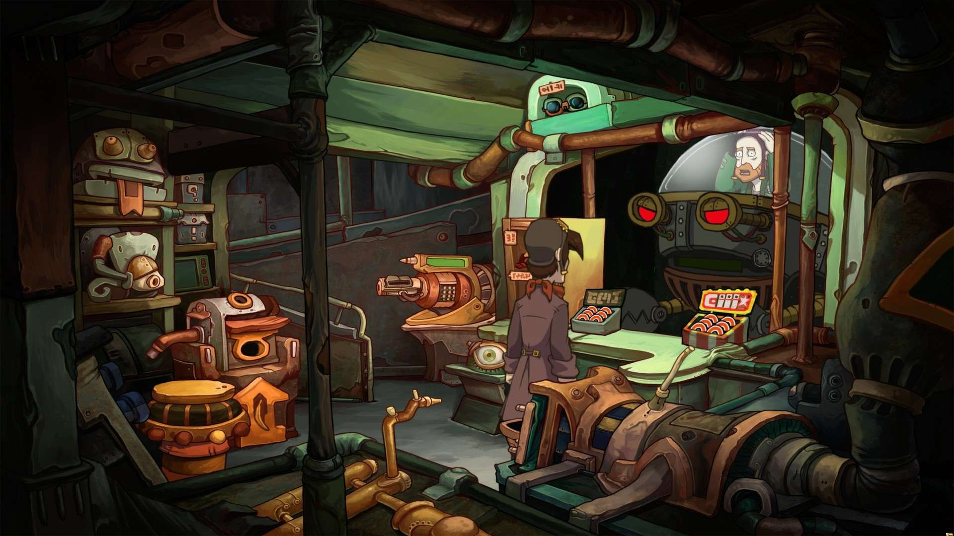 Chaos on Deponia #8