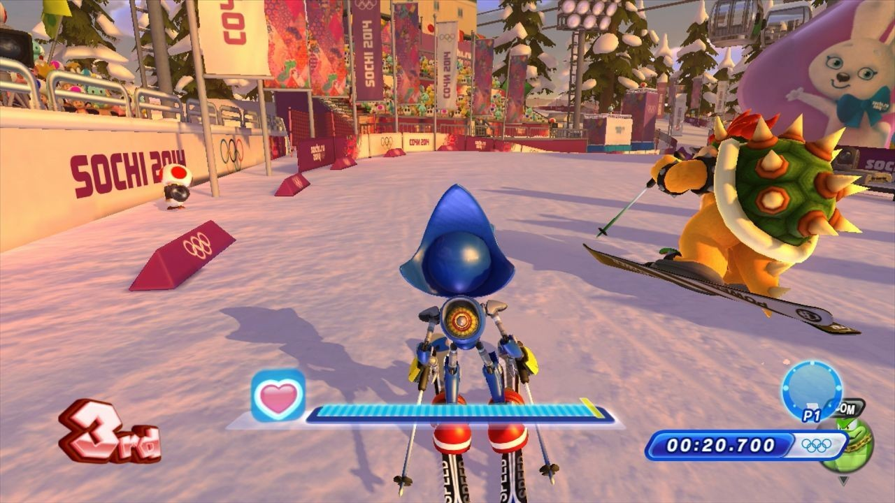 Mario & Sonic at the Sochi 2014 Olympic Winter Games #9