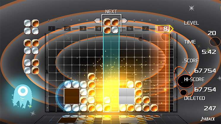 Lumines Remastered #4