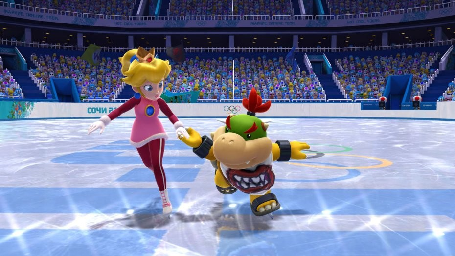 Mario & Sonic at the Sochi 2014 Olympic Winter Games #3