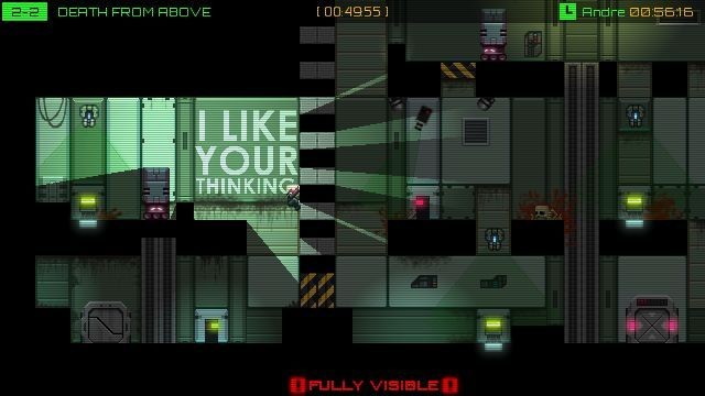 Stealth Inc: A Clone In The Dark #4