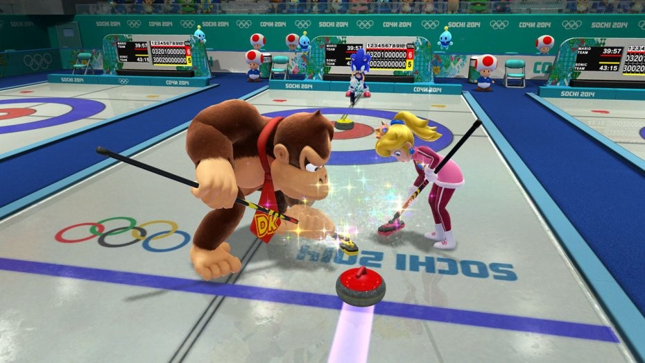 Mario & Sonic at the Sochi 2014 Olympic Winter Games #4