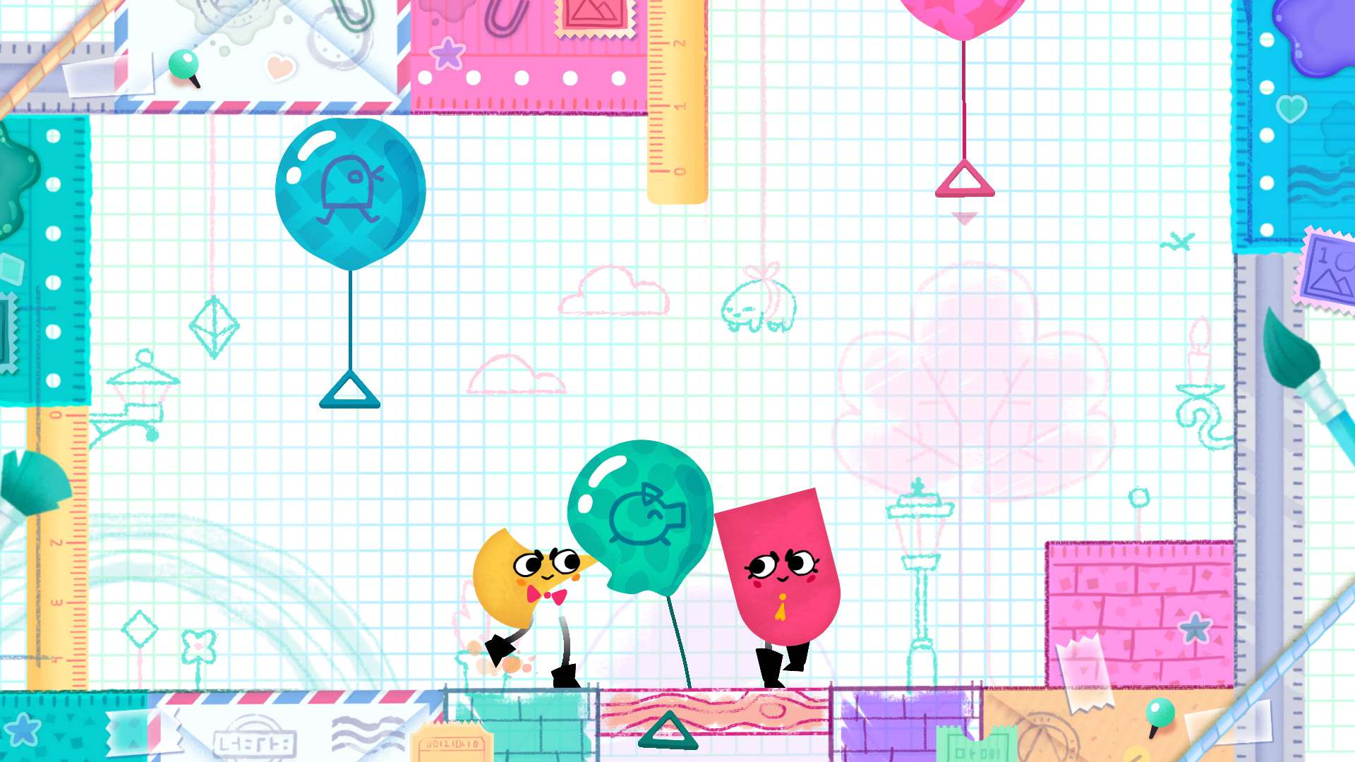 Snipperclips: Cut it out, together! #8