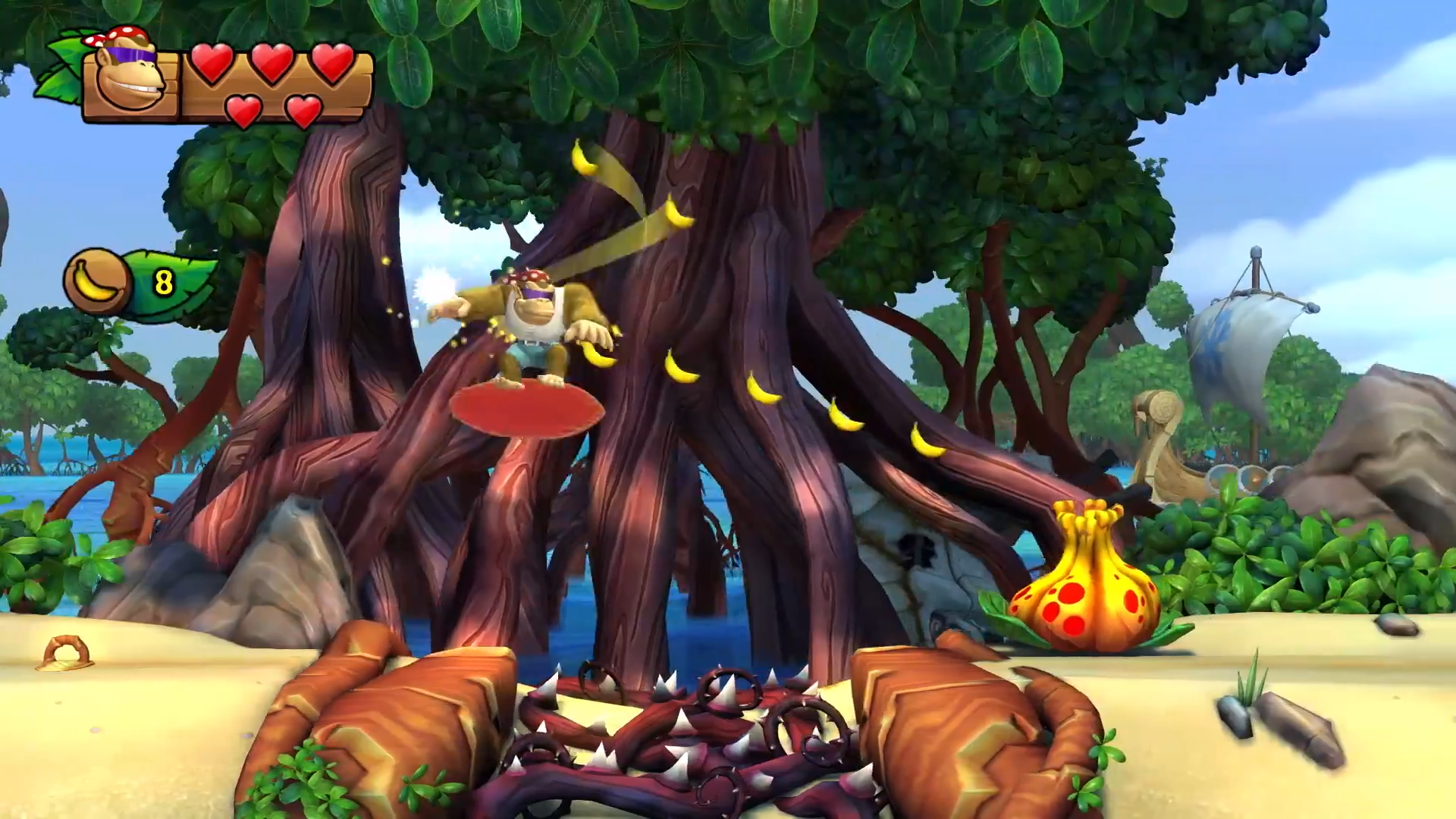 Donkey Kong Country: Tropical Freeze (2018) #2