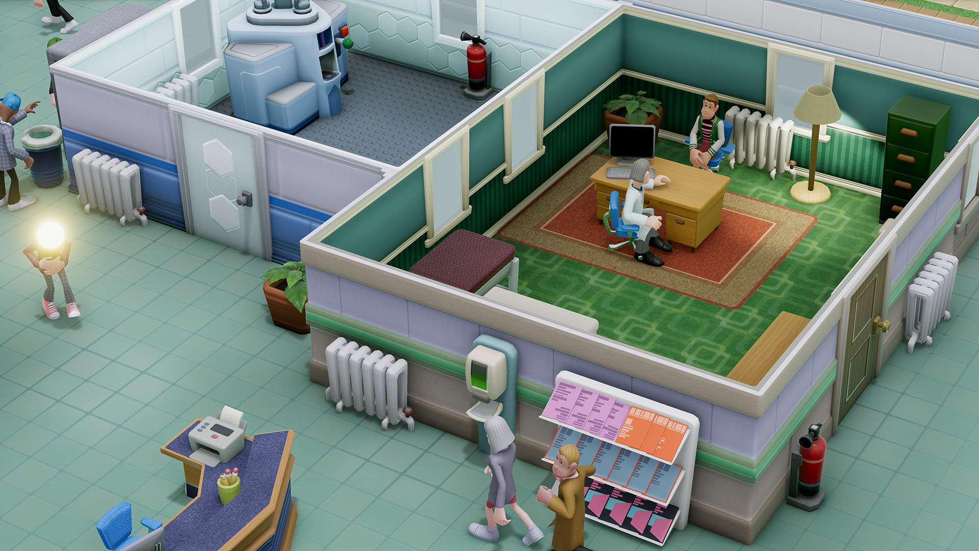 Two Point Hospital #7