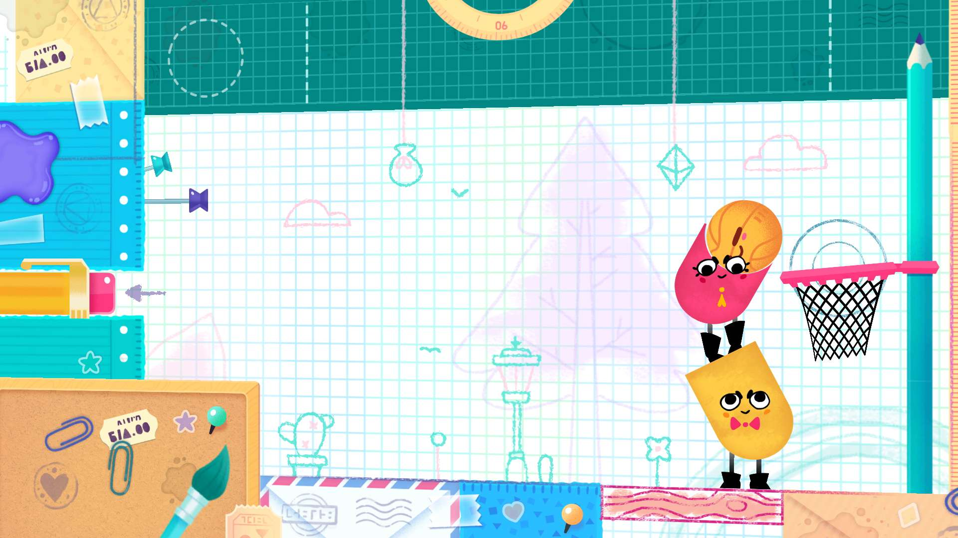 Snipperclips: Cut it out, together! #7
