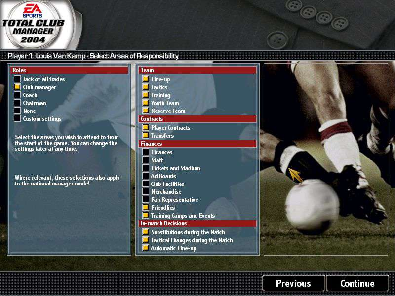 Total Club Manager 2004 #2