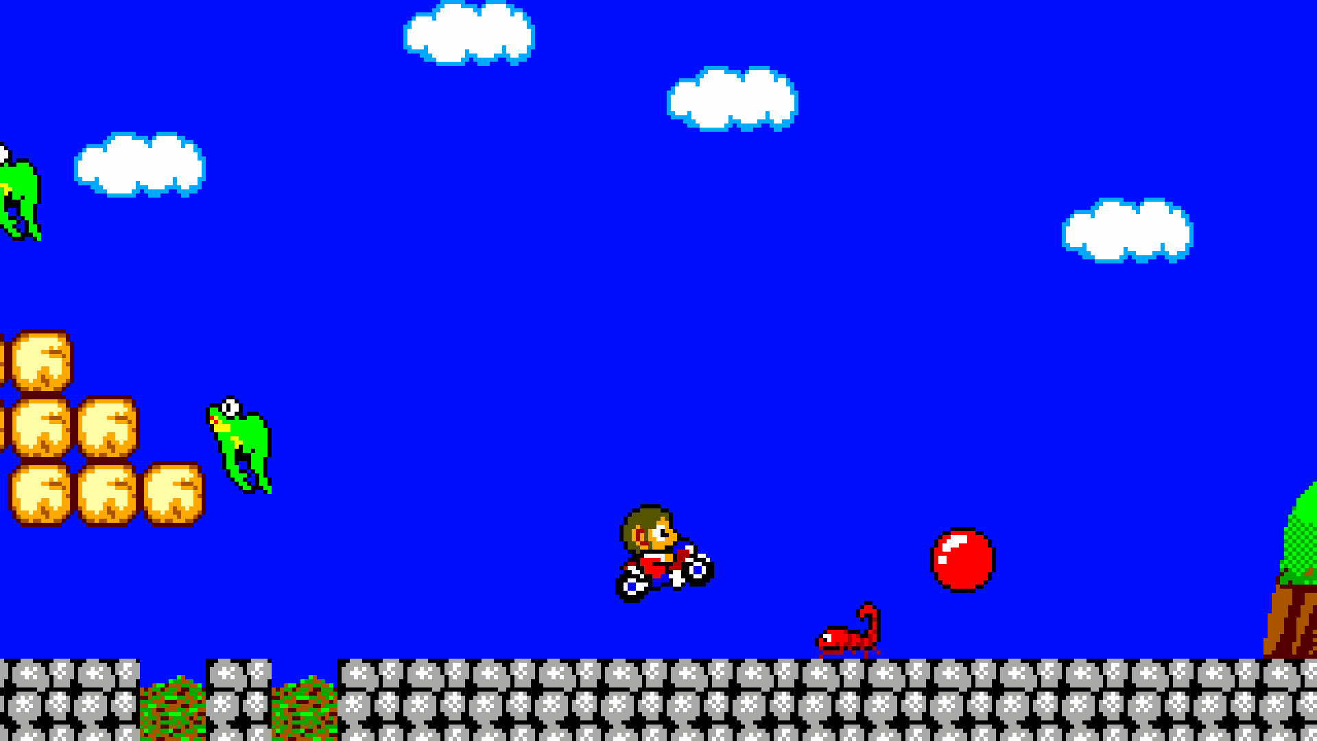 Alex Kidd in Miracle World DX #1