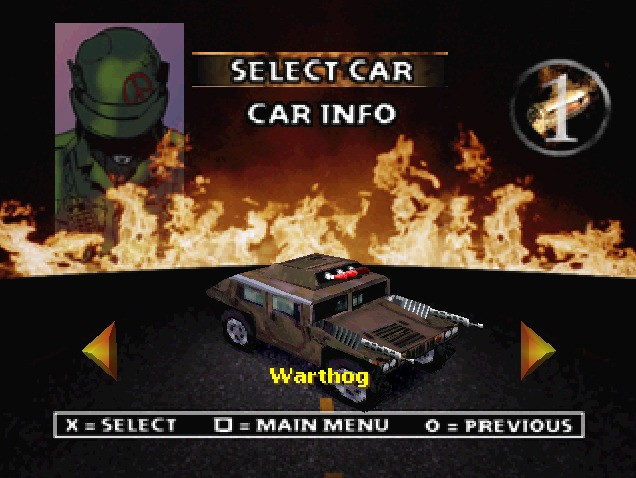 Twisted Metal 2: World Tour #12