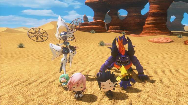 World of Final Fantasy Maxima #3