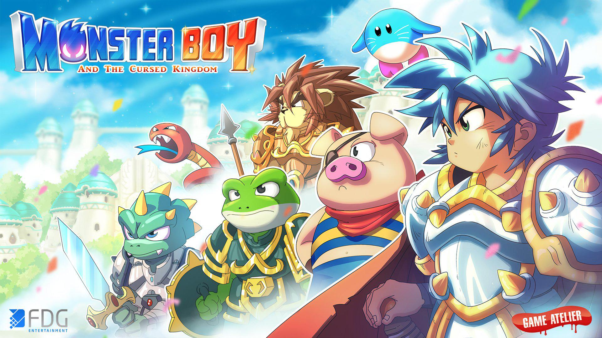 Monster Boy and The Cursed Kingdom #1
