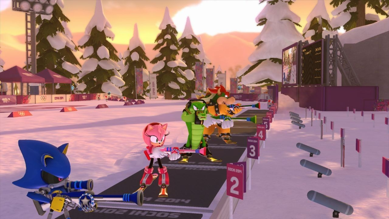 Mario & Sonic at the Sochi 2014 Olympic Winter Games #6