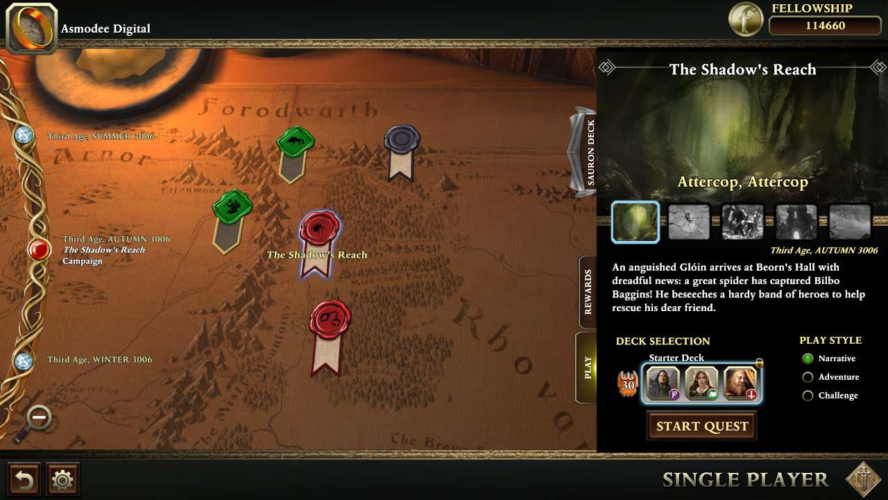 The Lord of the Rings: Adventure Card Game #3