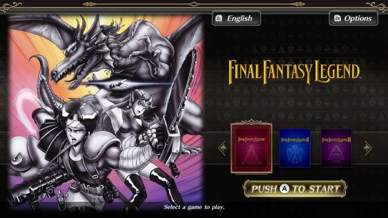 Collection of SaGa: Final Fantasy Legend