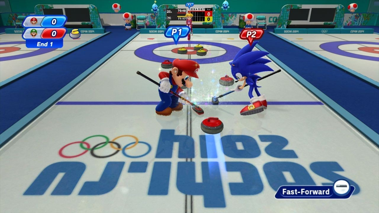 Mario & Sonic at the Sochi 2014 Olympic Winter Games #10