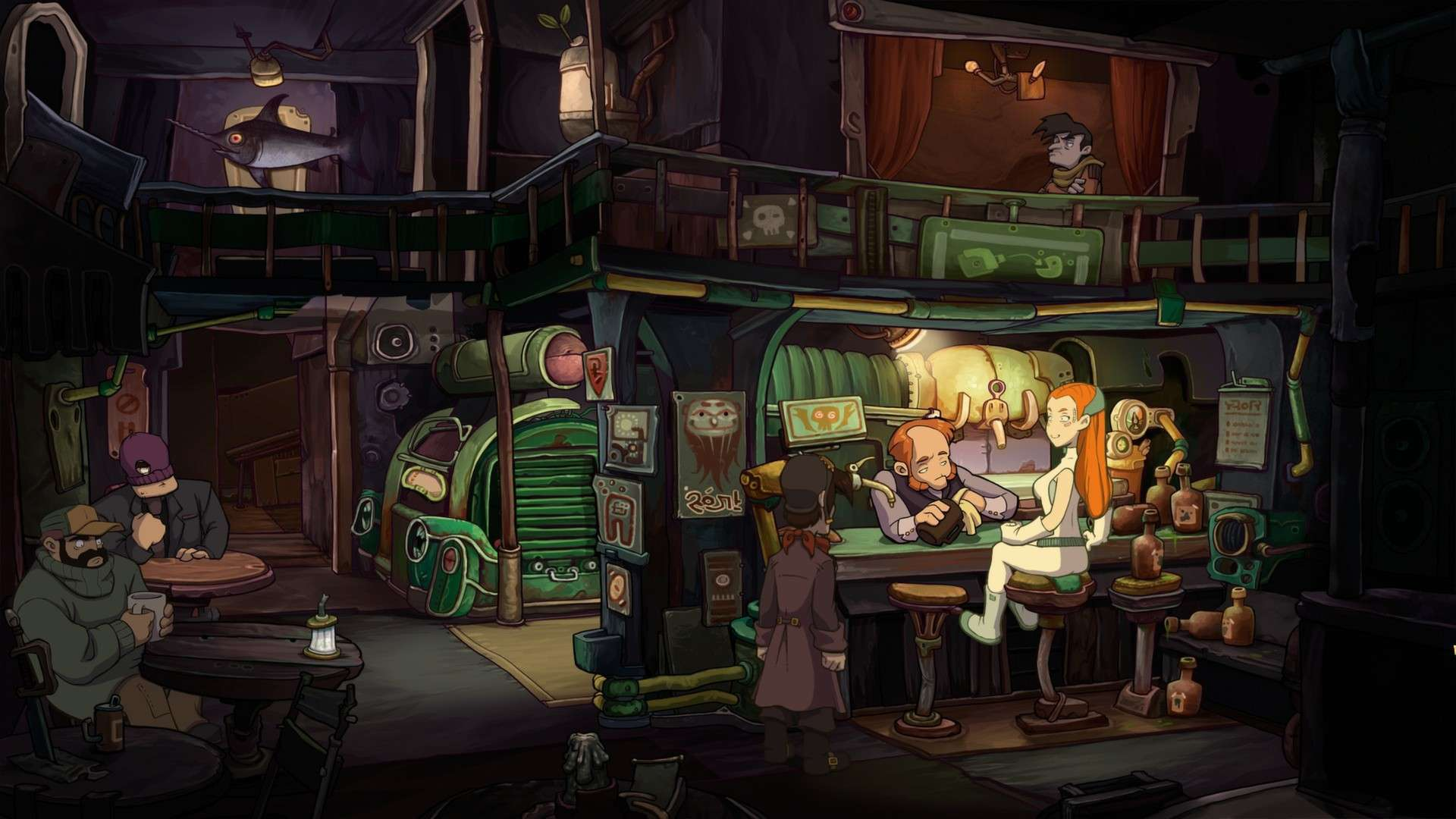 Chaos on Deponia #7