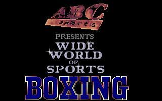 TV Sports: Boxing #1