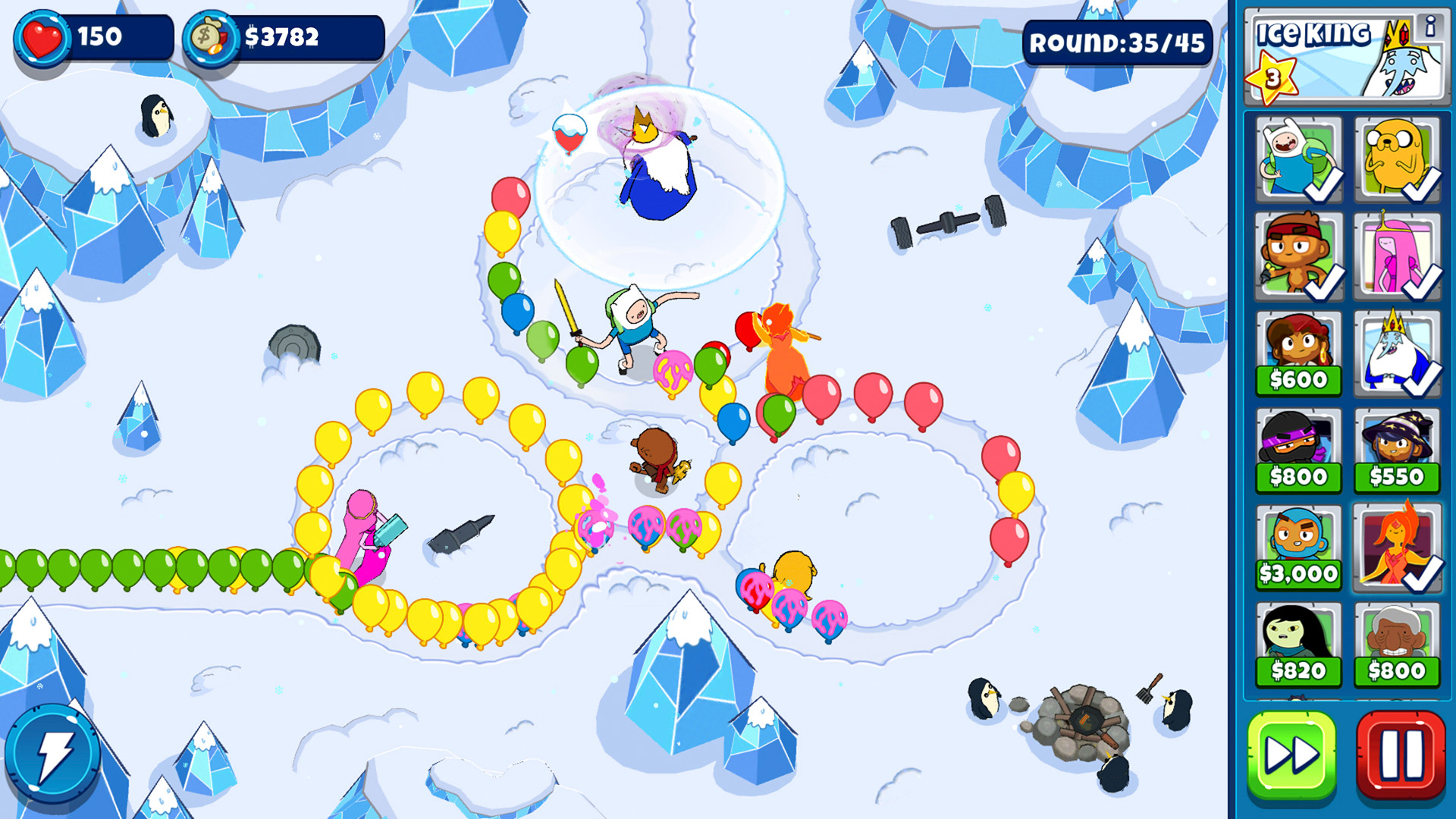 Bloons Adventure Time TD #3