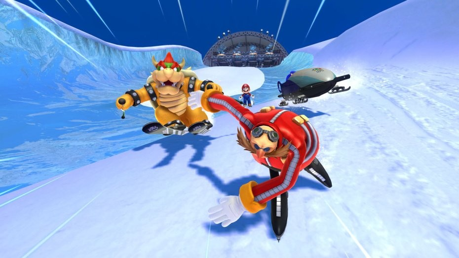 Mario & Sonic at the Sochi 2014 Olympic Winter Games #5