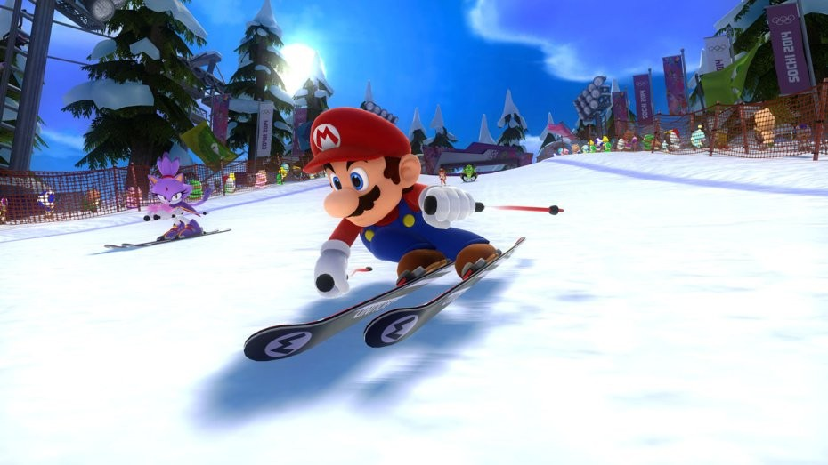 Mario & Sonic at the Sochi 2014 Olympic Winter Games #2