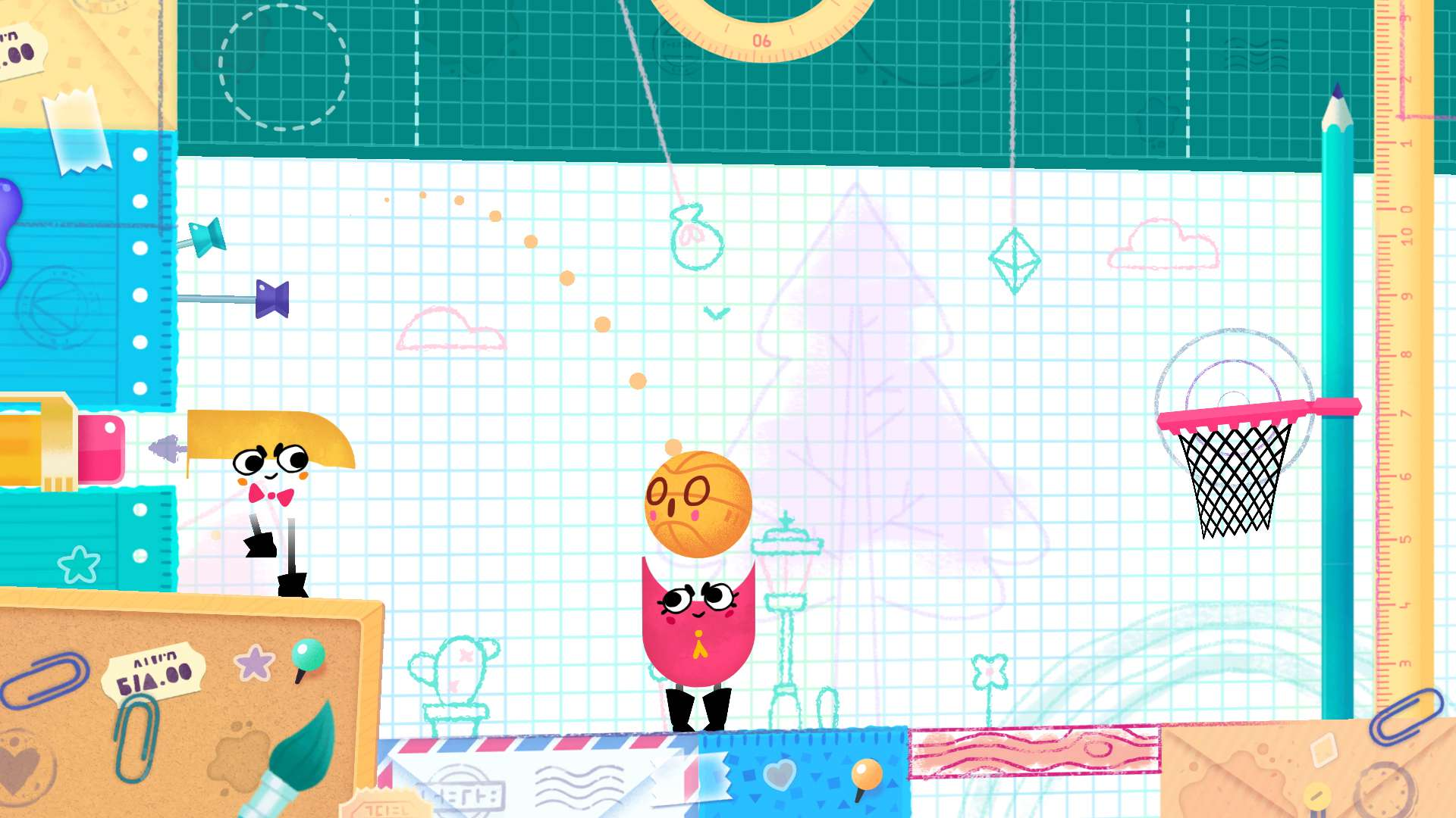 Snipperclips: Cut it out, together! #9