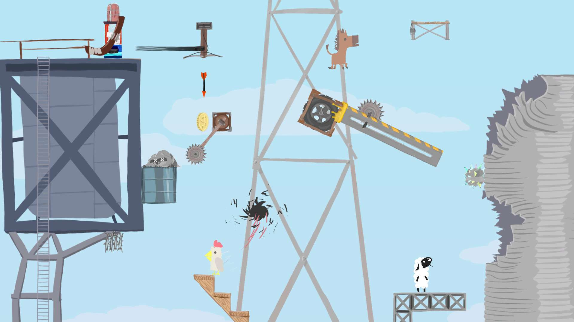 Ultimate Chicken Horse #2