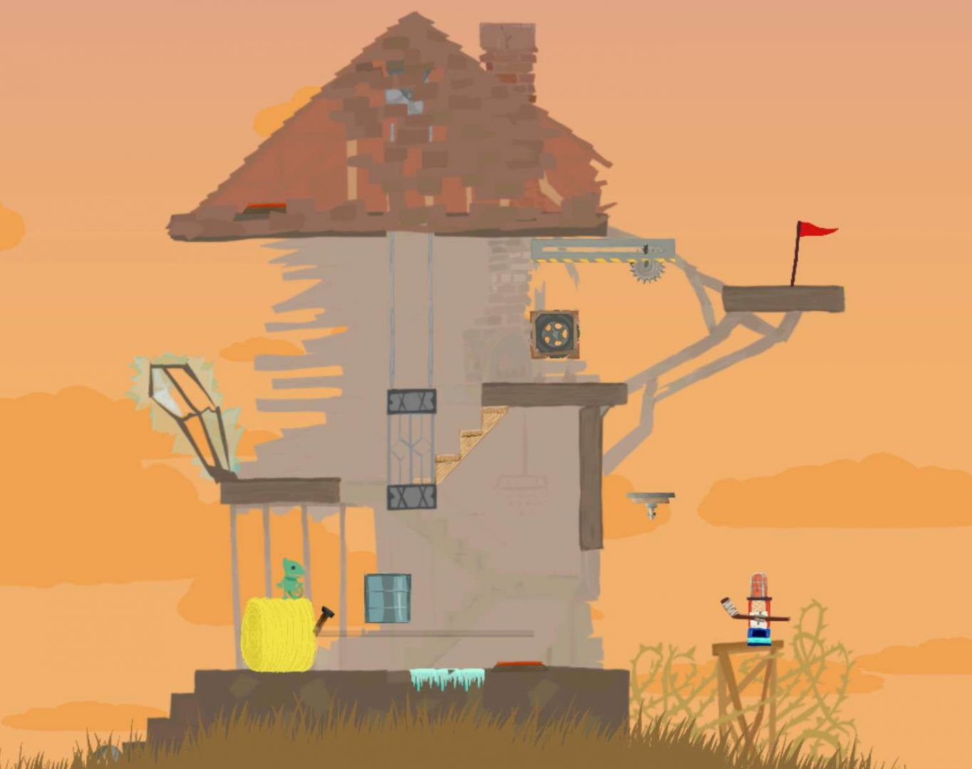 Ultimate Chicken Horse #4