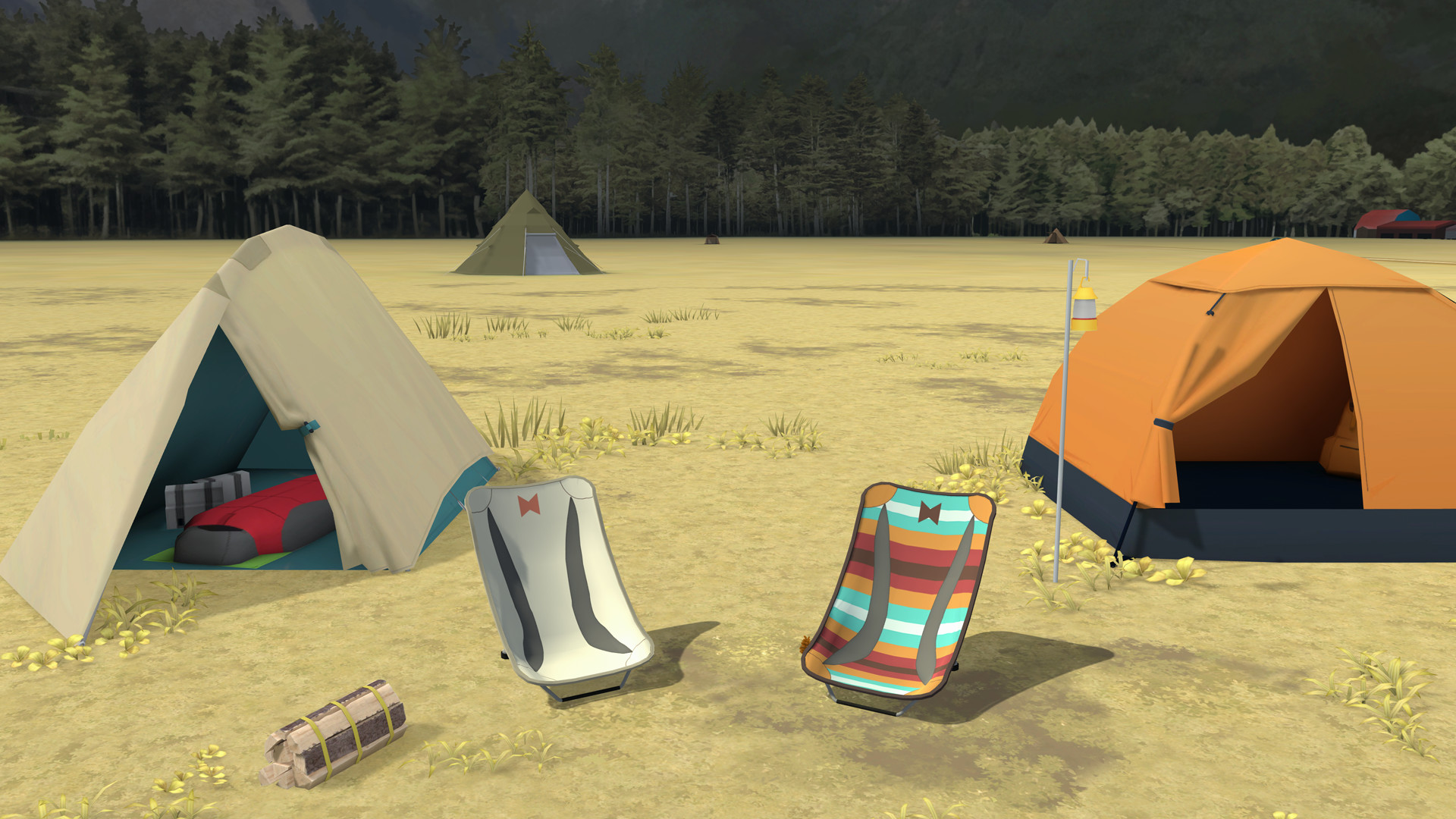 Laid-Back Camp -Virtual- Fumoto Campsite #5