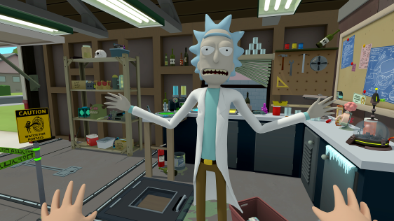 Rick and Morty: Virtual Rick-ality