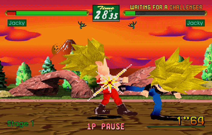 Virtua Fighter Kids #12