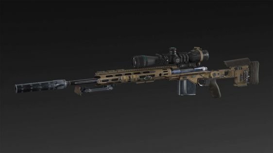 Sniper: Ghost Warrior 3 - XM-2015   Bipod   Silencer   Extended Mag   Scope NATO 8x, 14x, 20x, 26x